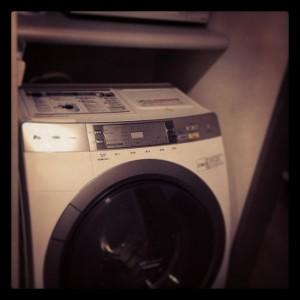 客室の洗濯機